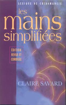 Claire Savard - palmist, author: Les Mains Simplifiées